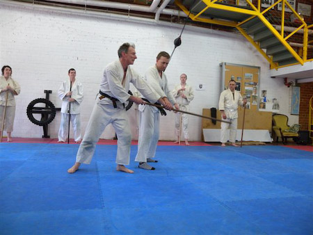 pure aikido training